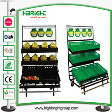 Supermarket Banana Display Rack with Banana Tray